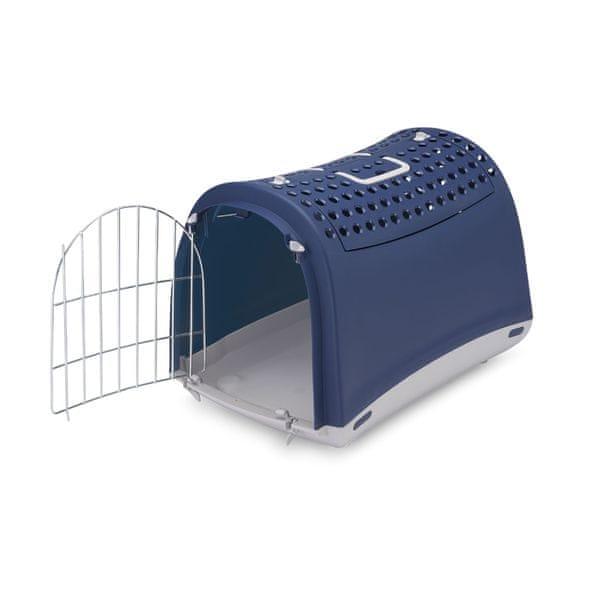 Argi Přepravka pro kočky a psy Cabrio modrá
