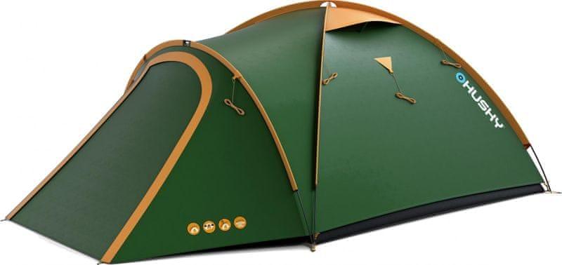 Husky Bizon 3 os classic zelená
