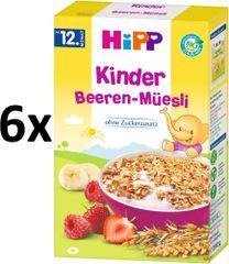 HiPP BIO Dětské ovocné müsli 6x200g
