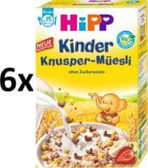 HiPP BIO Dětské křupavé müsli - kačenky a kytičky 6x200g
