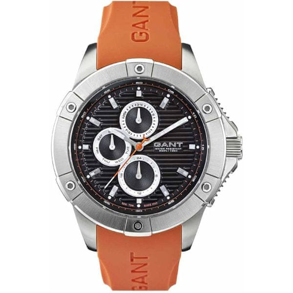 Gant Fulton Black-Orange - Rubber W10957