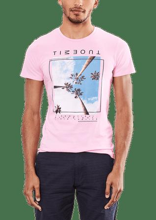 s.Oliver férfi póló L rózsaszín
