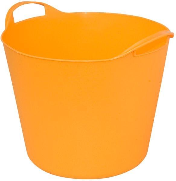ArtPlast Multifunkční flexibilní koš 42 l, oranžový