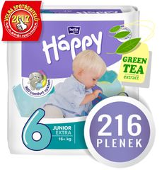 Bella Happy Junior EXTRA Big Pack - 216 ks