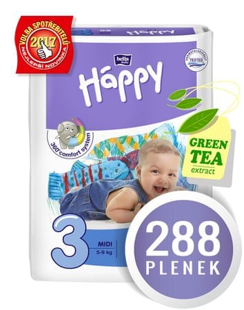 Bella Happy Midi Big Pack - 288 ks