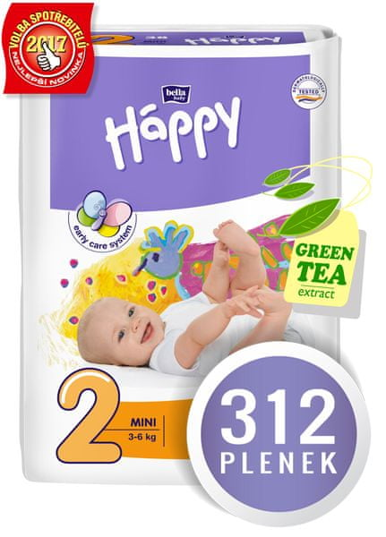 Bella Happy Mini Big Pack - 312 ks