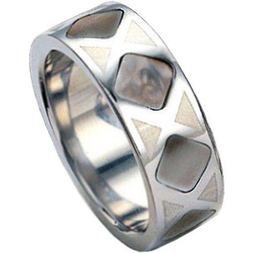 Tribal Prsten Couple RSSH01-DARK (Obvod 63 mm)