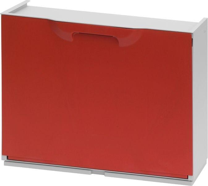 ArtPlast Plastový botník, červený