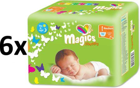 Magics Flexidry Newborn Megapack, 192 db