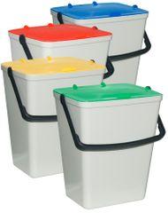 ArtPlast Kosz do sortowania odpadów 4x 15 l