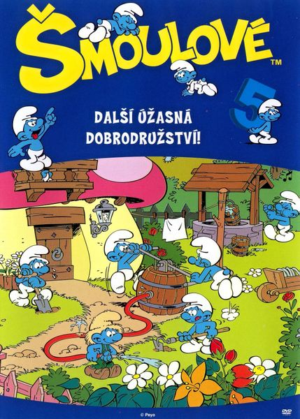 Šmoulové 05 - DVD