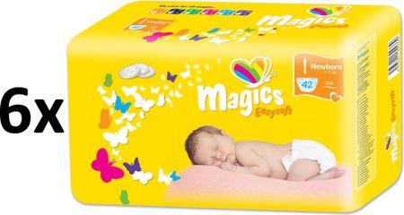 Magics Easysoft Newborn (2-5kg) Megapack - 252ks
