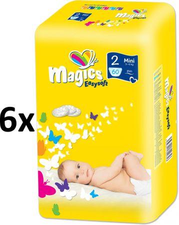 Magics Easysoft Mini (3-6kg) Megapack - 360szt.