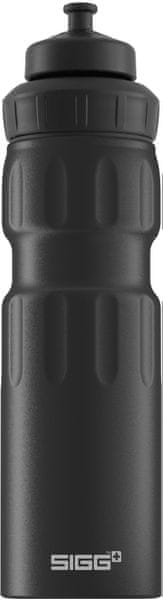 Sigg Láhev 0,75 l Wide Mouth Sport Touch Black