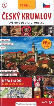 Eliášek Jan: Český Krumlov - kapesní průvodce/česky