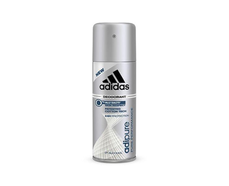 Adidas Adipure - deodorant ve spreji 150 ml