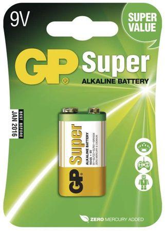 GP Alkalická baterie GP Super (9V)
