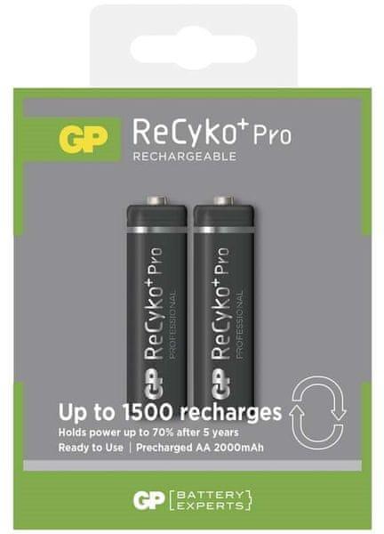 GP Nabíjecí baterie GP ReCyko+ Pro Professional (AA), 2 ks