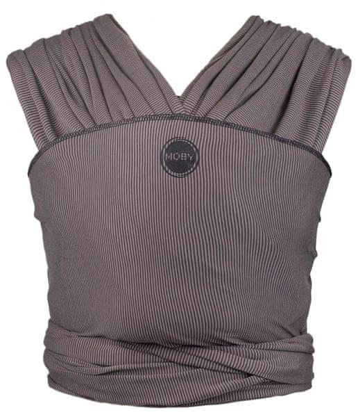Moby Design Grey Stripes