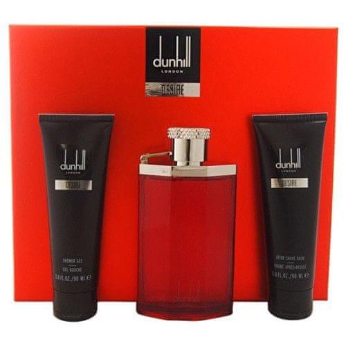 Dunhill Desire For A Man - EDT 100 ml + sprchový gel 90 ml + balzám po holení 90 ml + taštička