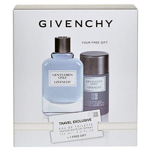 Givenchy Gentlemen Only - EDT 100 ml + tuhý deodorant 75 ml