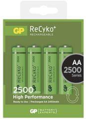 GP Nabíjecí baterie GP ReCyko+ 2500 (AA), 4 ks