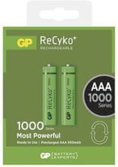 GP Nabíjecí baterie GP ReCyko+ 1000 (AAA), 2 ks
