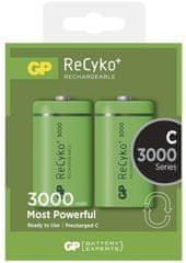 GP Nabíjecí baterie GP ReCyko+ (C), 2 ks