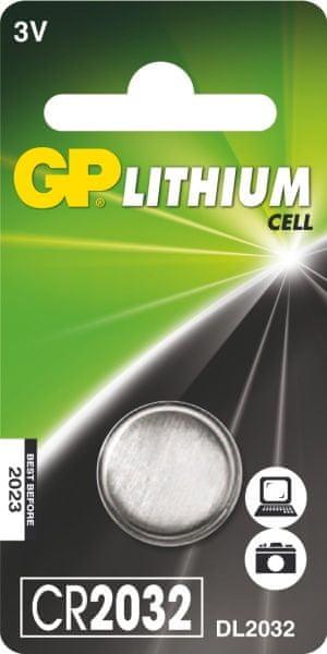 GP Lithiová knoflíková baterie GP CR2032