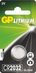 GP baterija CR2032, 1 kos