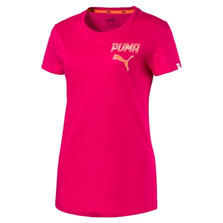 Puma ženska majica Athletic Tee, roza, L