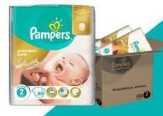 Pampers plenice Premium Care Mini (2), 3-6 kg, 160 kosov