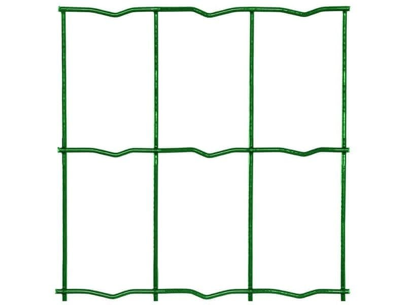 Zahradní síť MIDDLE poplastovaná Zn+PVC - výška 180 cm, role 25 m