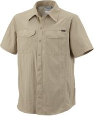 Columbia Silver Ridge Short Sleeve Shirt Fossil