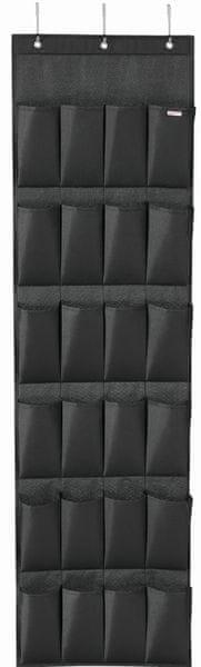 Leifheit Závěsný organizér 80015, černý