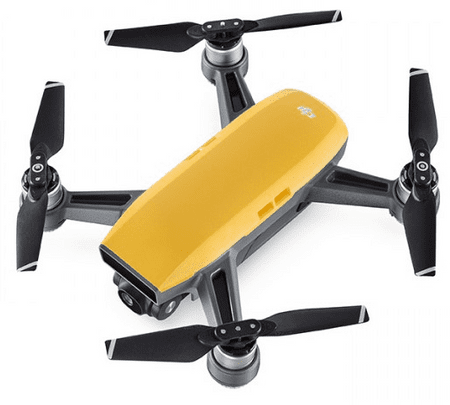 DJI Spark Fly More Combo Drón, Sunrise Yellow