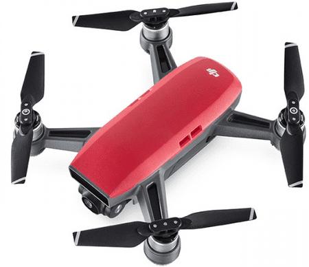 DJI dron Spark Fly More Combo, rdeč