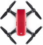 3 - DJI dron Spark Fly More Combo, rdeč