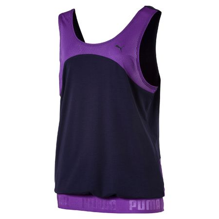 Puma ženski top Transition Royal, vijoličen, XS