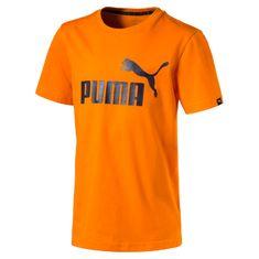 Puma otroška majica ESS No.1 Tee, oranžna