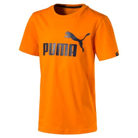 Puma otroška majica ESS No.1 Tee, oranžna, 176