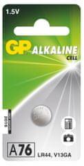 GP Alkalická knoflíková baterie GP LR44 (A76F)