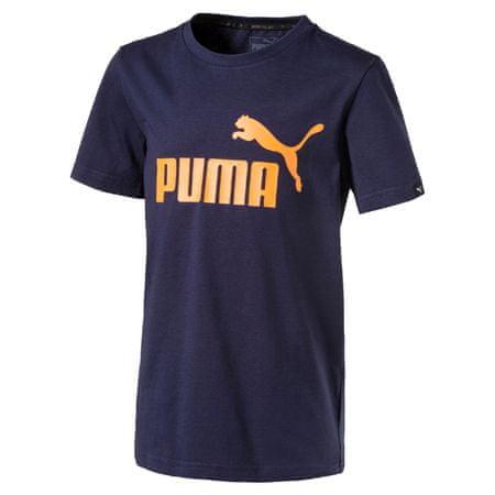 Puma otroška majica ESS No.1 Tee, modra, 164