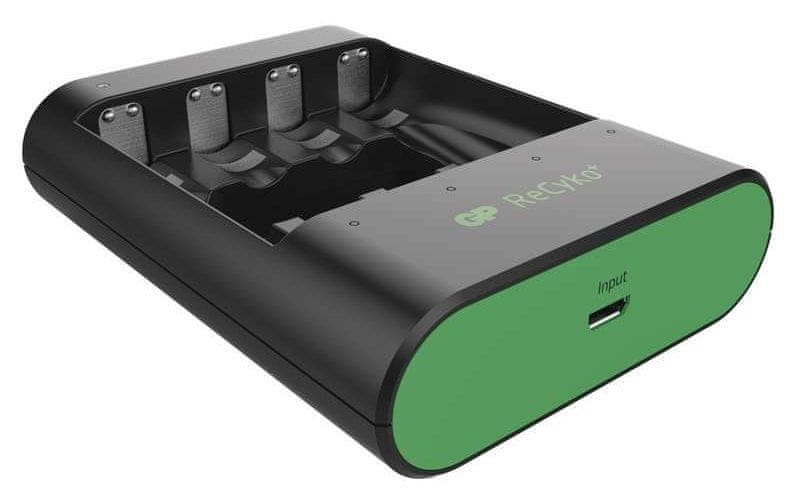 GP Nabíječka baterií U421 (USB-A), černá