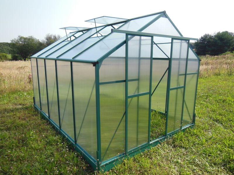 LanitPlast skleník LANITPLAST PLUGIN 8x14 zelený