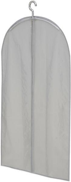 Leifheit Cestovní obal na šaty krátký, světle šedý