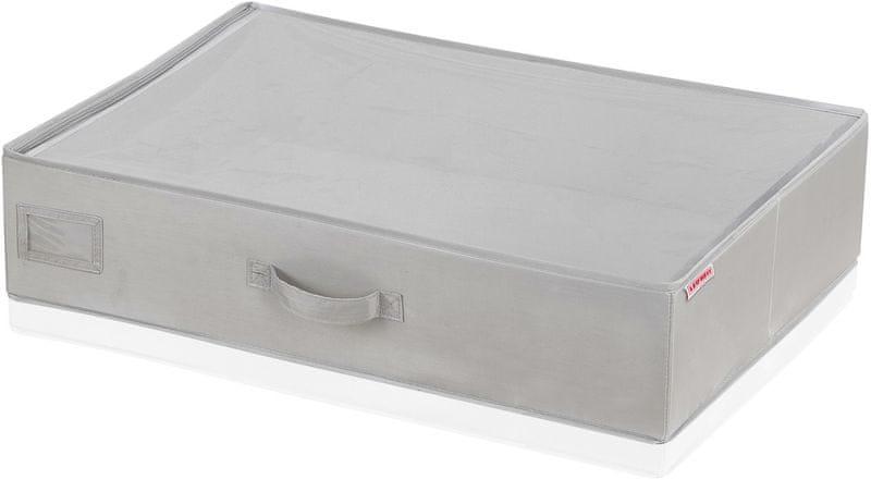Leifheit Malý box pod postel, světle šedý