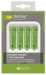 GP Nabíječka baterií PB420 + 4x GP ReCyko+ 2500 (AA)