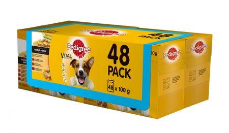Pedigree hrana za odrasle pse multipaket 4x (12 x 100g)