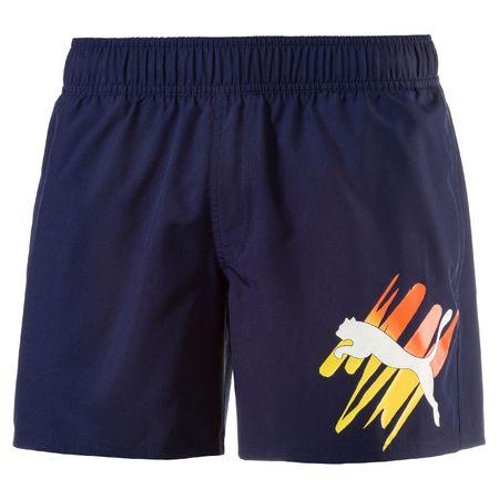 Puma moške hlače Style Summer Big Cat Shorts, modre, S